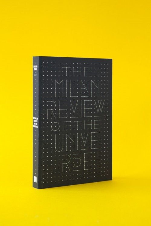 The Milan Review of the Universe: Milan Review, Cover Design, Graphicdesign Typography Art, Graphic Design Inspiration, Universe, Dot, Typographic Design