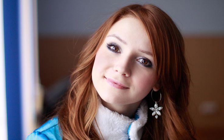 Most Beautiful Redhead  Beautiful Redhead Smile -5715