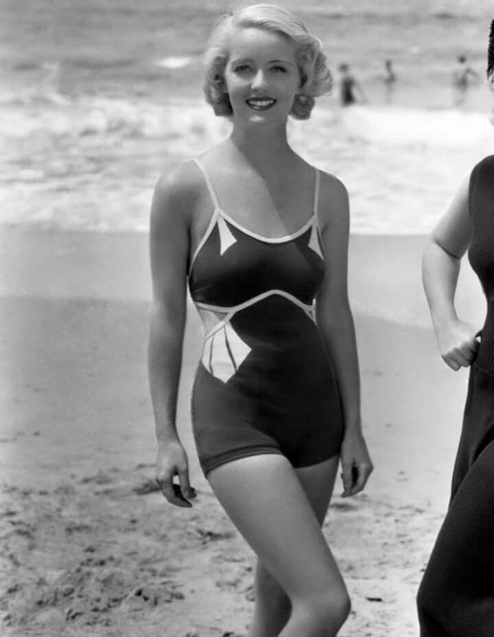 """Bette Davis in """"Three on a Match"""" (1932). Love the swimsuit."""