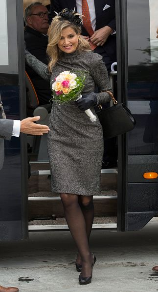 Royal Family Around the World: King Willem-Alexander and Queen Maxima Of The Netherlands Visit Former Mining Region on October 8, 2015 in Kerkrade, Netherlands.