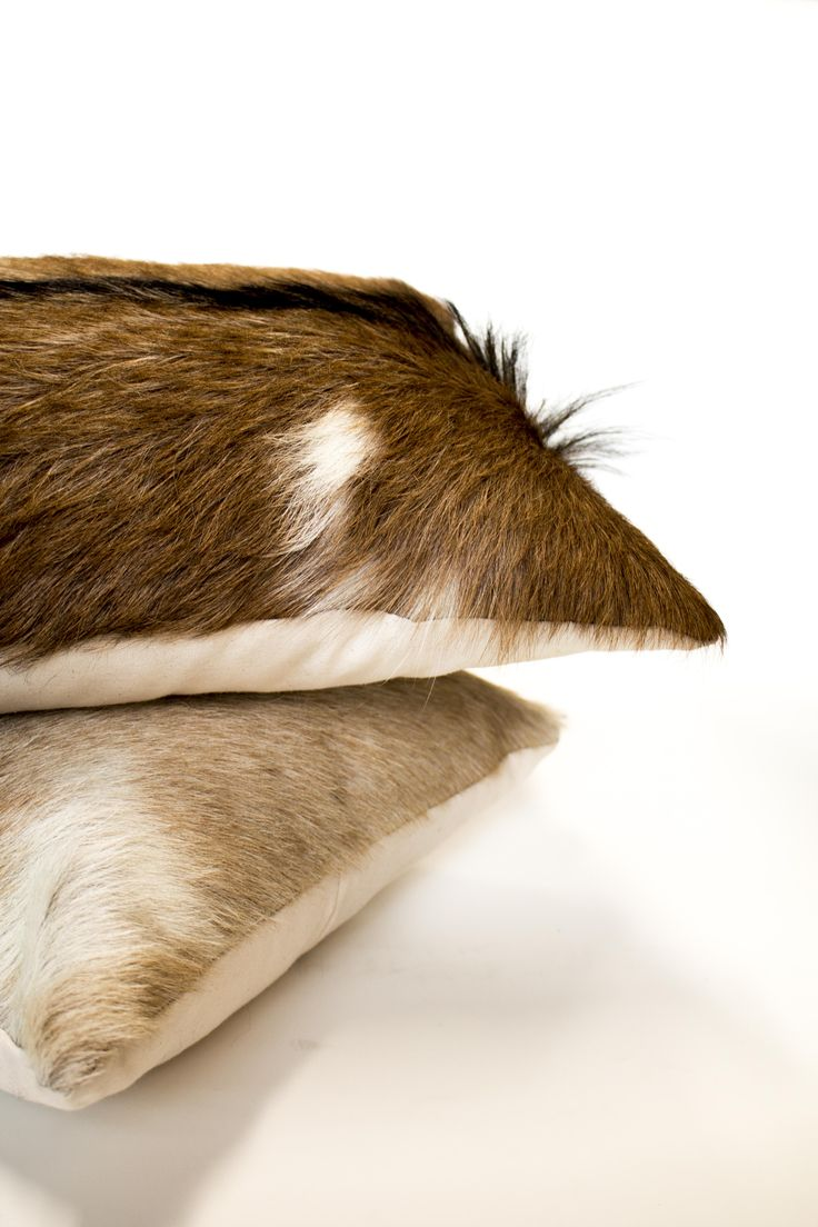 Goat cushion - Ugg Australia - made in Australia