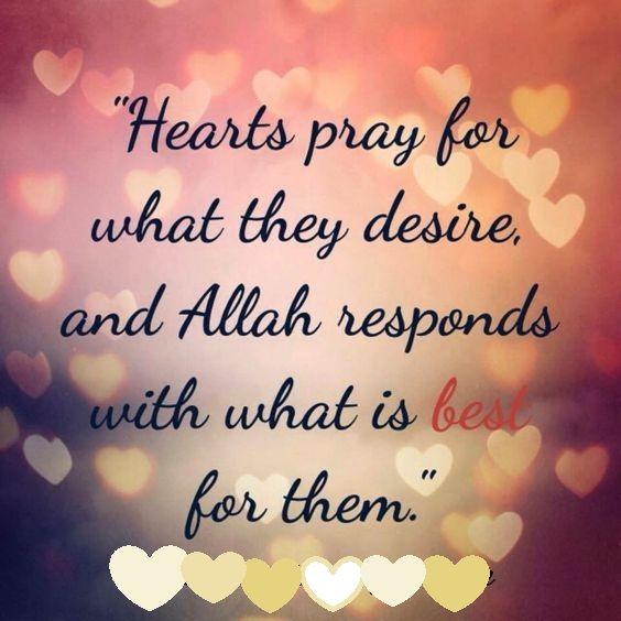 Allah responds