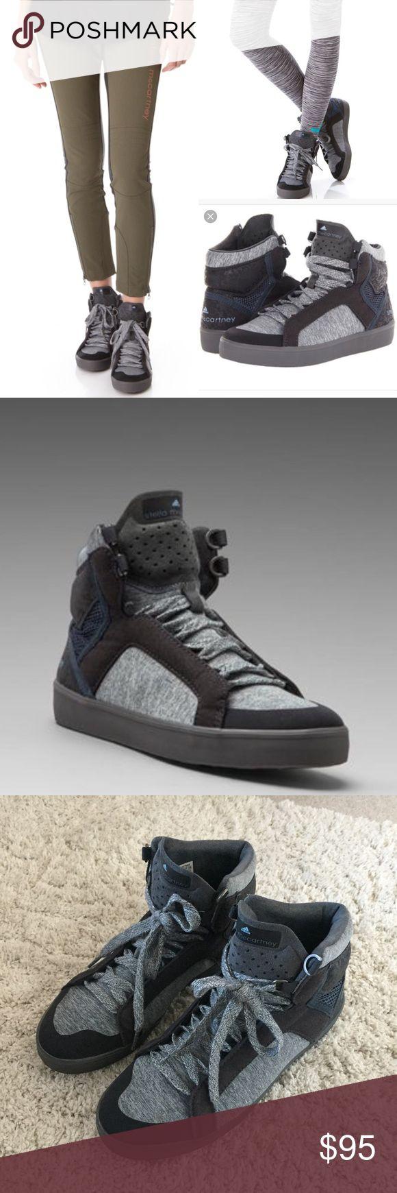 Adidas by Stella McCartney Discosura Hiker Boot Adidas by Stella McCartney Discosura High Tops. Hardly worn! Adidas by Stella McCartney Shoes Sneakers