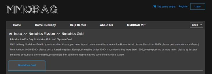 Cheap Nostalrius PVE Gold, Nostalrius PVP Gold, Buy Elysium Gold With Huge Stock And Low Prices, Fast Delivery With Live Chat Support! #NostalriusPVEGold https://www.mmobag.com/nostalrius-gold