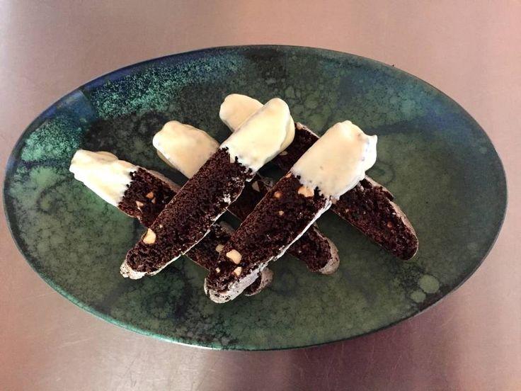 Chocolate, Almond and Craisin Biscotti