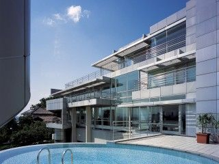 Tan House – Richard Meier & Partners Architects