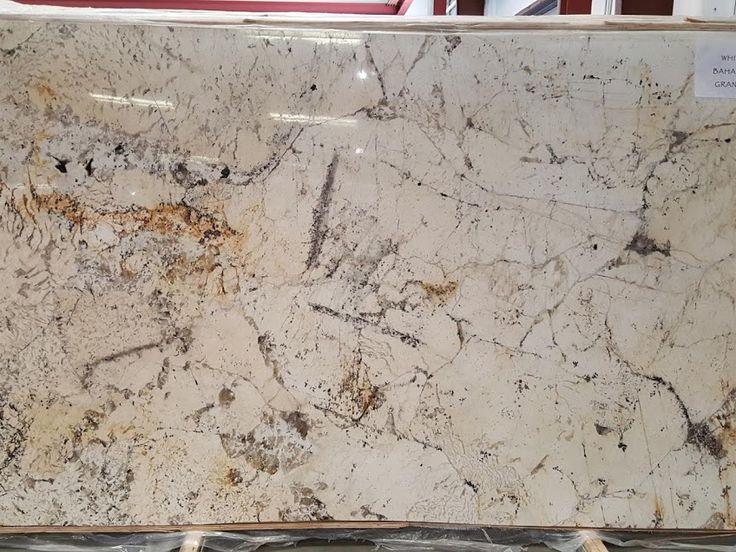 White Bahamas Granite Kitchen Countertops In South