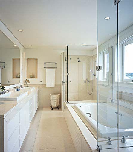 Banheiros com banheira - Casa