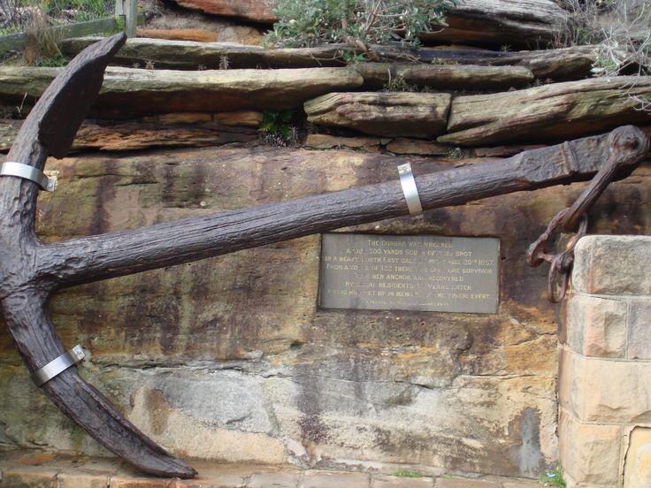 Anchor from the Dunbar