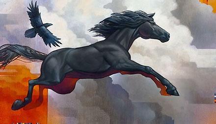 Pegasus Leap of Faith - Craig Kosak - World-Wide-Art.com - #craigkosak
