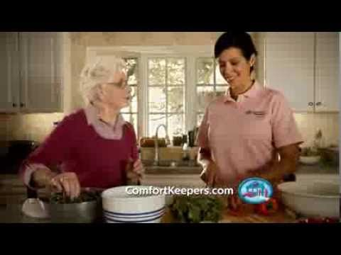 Your Mom could do anything: turn night into day, conquer the globe, stop floods. Now, she could use a hand. Learn how Comfort Keepers can help!
