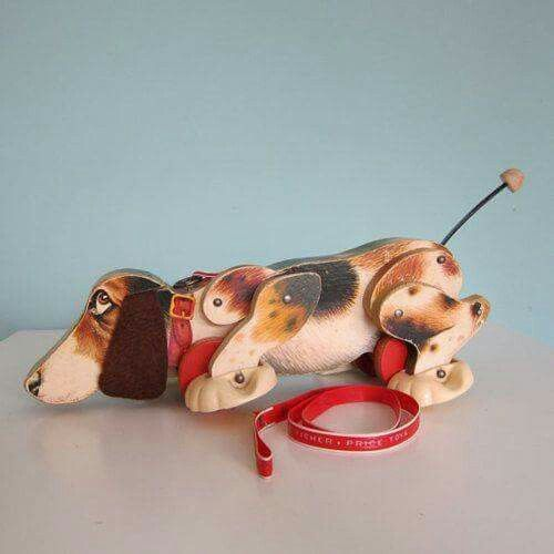 Walking dog toy..My son had one of these..