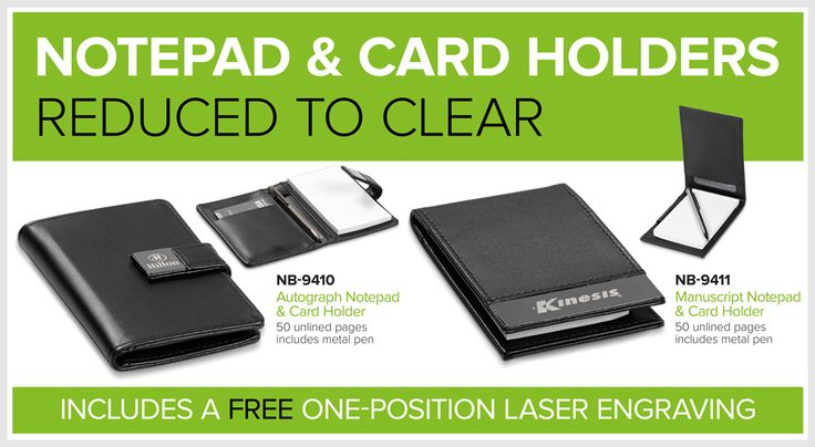 NoteBook & Card Holders – Reduced To Clear – Bell Jar Pty Ltd