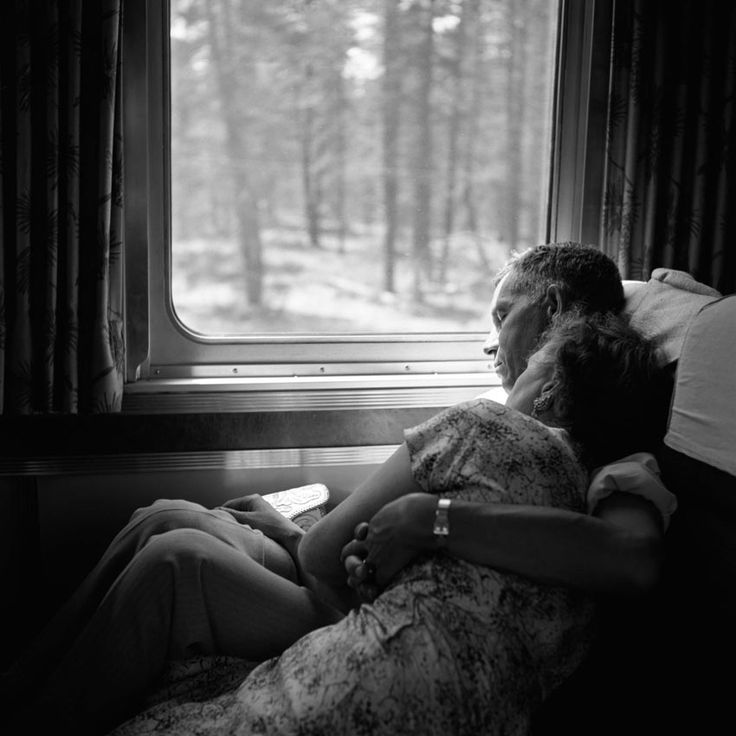 by vivian maier - untitled, undated...I want this...this level of comfort, this level of caring.