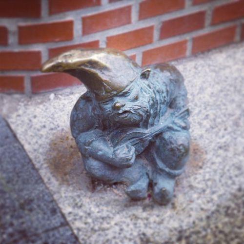One of the little gnomes around the streets of Lublin, Poland | Flickr – Condivisione di foto!