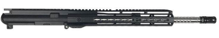 "AR-15 Upper Assembly - 16"" / .223|5.56 / SS / Golfball / 12"" Hera Arms Keymod AR-15 Handguard / Rail"
