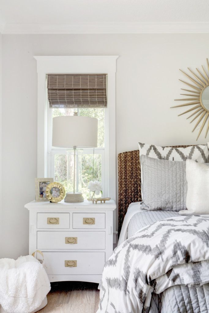 By West Elm · Bedroom, Before After, Renovation, Bedroom Redo, Revamp  Bedroom, Grey Bedroom,