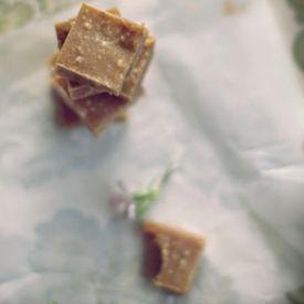 Salted Peanut Fudge  [Chit Chat Chomp] eat365.com.au