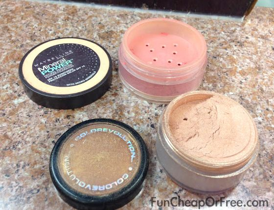 Lots of uses for empty makeup containers.  #reuse #organize