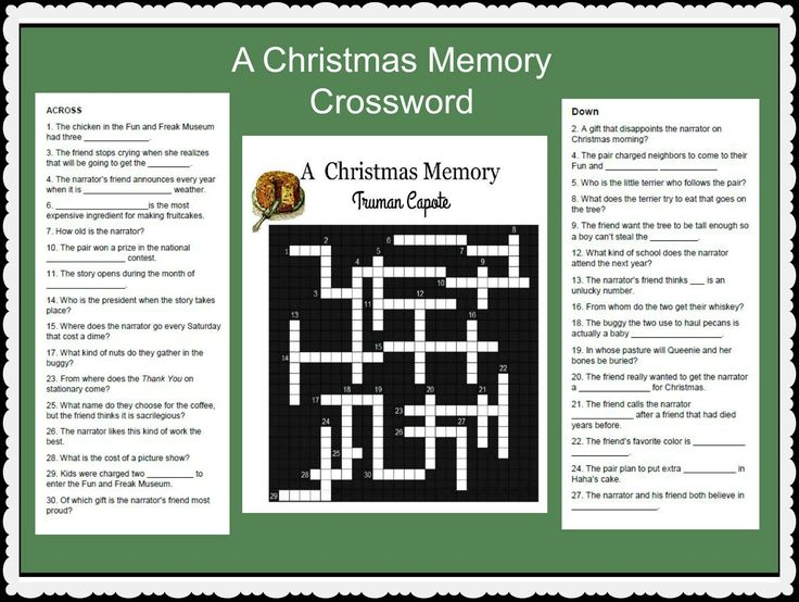 8 best short stories lesson plans and activities images on pinterest a christmas memory by truman capote a lesson activity to review plot and characters of fandeluxe Choice Image