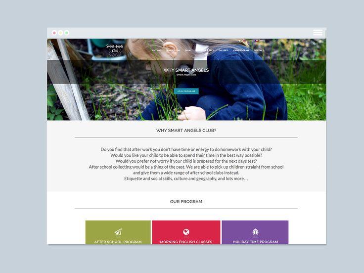 Smart Angels Club Website | Varró Joanna Design | Website | Web Design | Graphic…