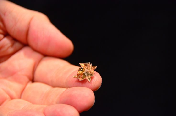 Origami Robot Folds Itself Up, Does Cool Stuff, Dissolves Into Nothing - IEEE Spectrum