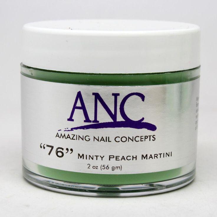 ANC 76 DIP Powder System Minty Peach Martini #76 2oz