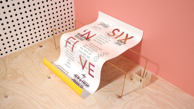 Six & Five is a contemporary art studio exploring the frontier zone between art and design. The studio was founded by Andy Reisinger and Ezequiel Pini,