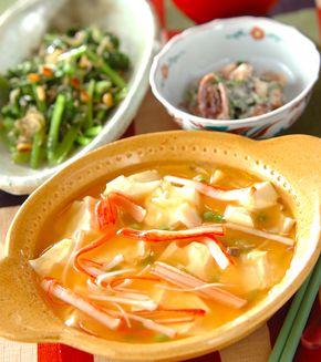 レンジで卵中華あんかけ」の献立・レシピ - 【E・レシピ】料理のプロが ... レンジで卵中華あんかけの献立