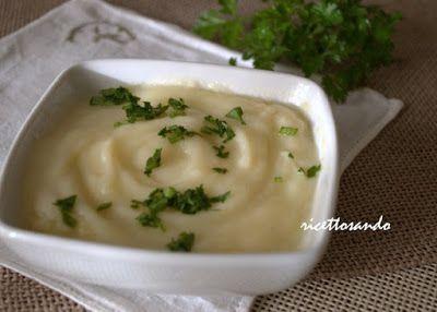 Ricettosando - ricette di cucina e chiacchiere: Cremé parmentier ovvero crema di patate