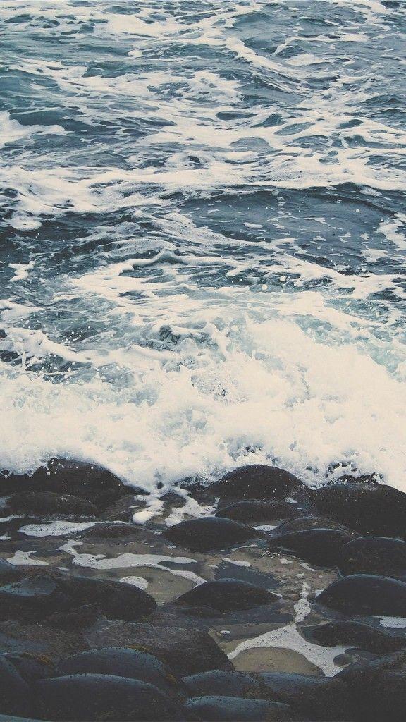 Nature-Ocean-Wave-Rock-Beach-Landscape-iPhone-6-wallpaper.
