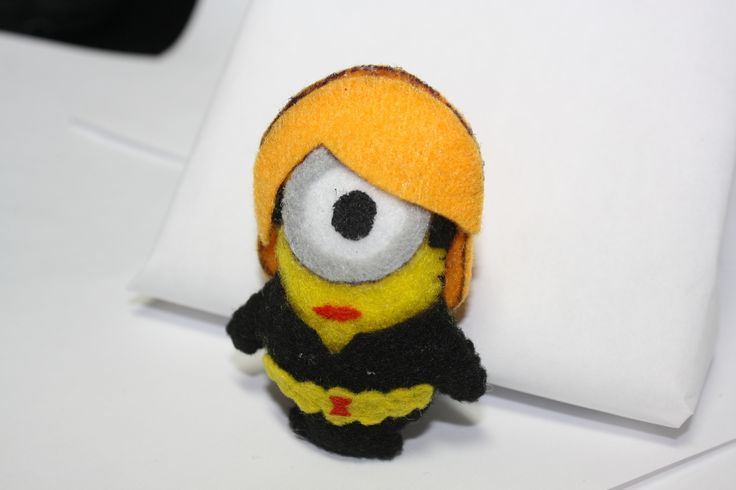 Minion Avengers http://www.cutoutandkeep.net/projects/minion-avengers Can't get the other pics to show up, the other ones are more interesting than Black ScarJo ... Widow.