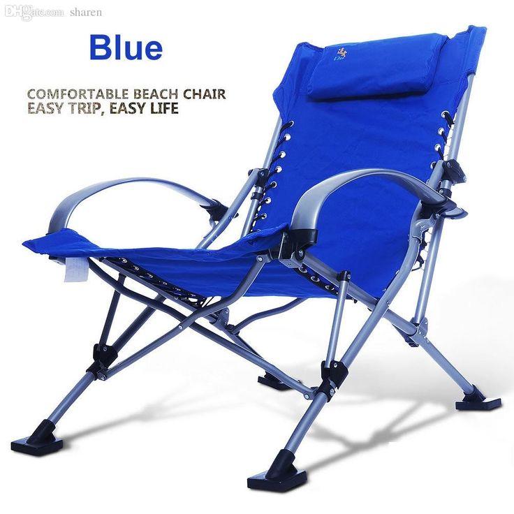 Aluminum Folding Beach Lounge Chair