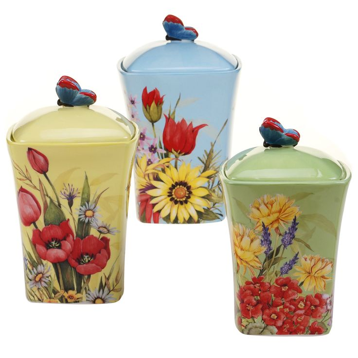 Kitchen Accessories China: 17+ Ideas About Ceramic Canister Set On Pinterest