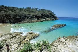 Good swimming spot Main beach