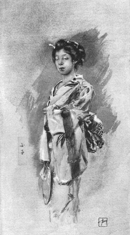 Geisha          An artist in Japan