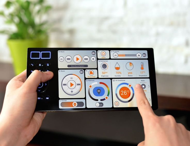 """Smart Home: Simplified. So easy anyone can set-up in under 5 minutes. Oomi Touch is the ultimate controller. """"No more of this 'smartphone control makes everything super amazing' nonsense."""" (thanks, Slashgear) Oomi Touch is stunning."""