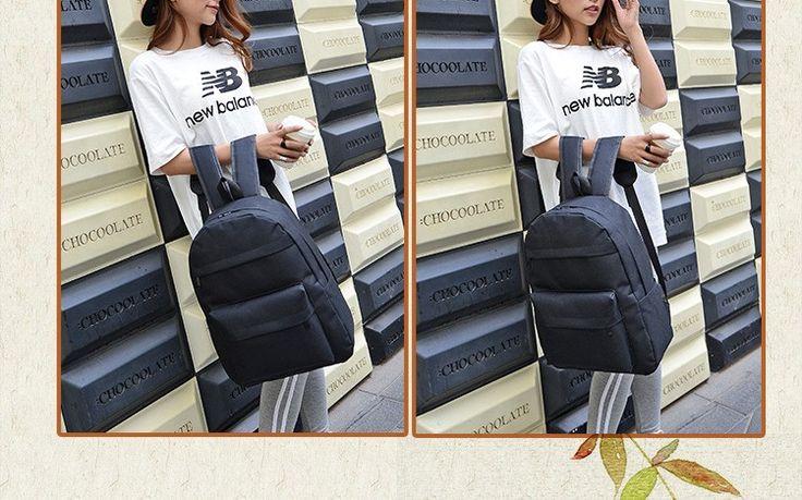Новый стиль нейлон цвета конфеты женщины рюкзак студент школы мешок книги рюкзак отдыха купить на AliExpress