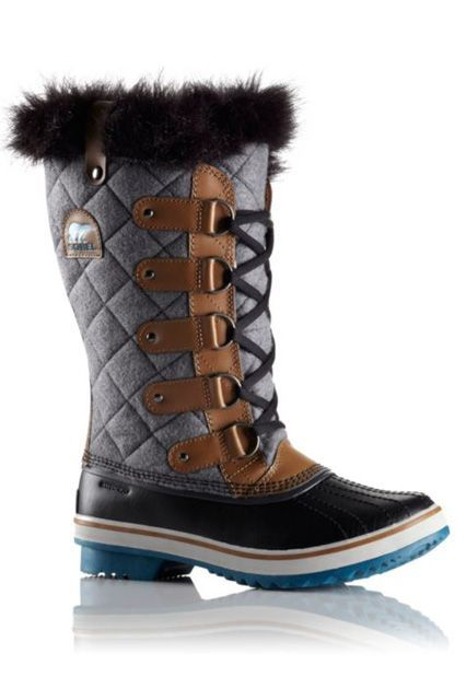 """The Boot: Sorel Tofino Felt BootWhy It Works: Fleece lining, microfleece topcover, rubber midsole and outersole What You Said: """"Sorel's Tofino Felt Boot, all the way! These boots are holding up amazingly in Boston. Boston weather destroyed my last boots, but the Sorel ones are tougher than a northeastern winter and were well worth the investment. Nobody likes having cold, wet feet, and"""