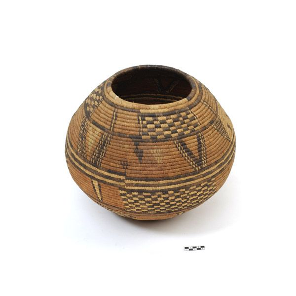 Basket from the Hausa people of Nigeria