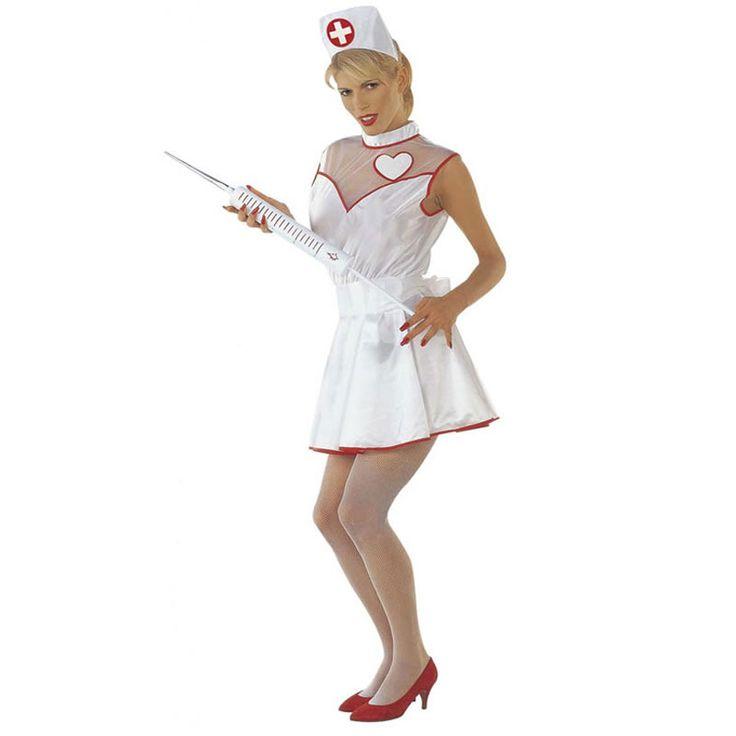 Costume Infirmière sexy #DéguisementFemme #OutletDéguisements #OutletCostumes