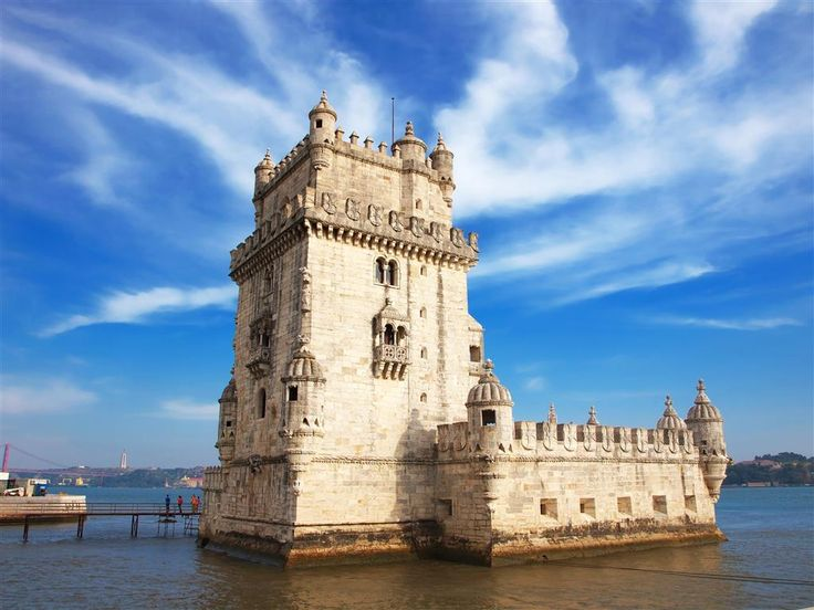 Španielsko a Portugalsko - Lisabon - Tower Belem  - 2