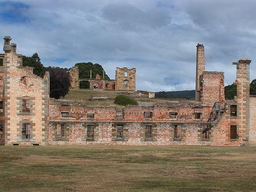 Port Arthur facade