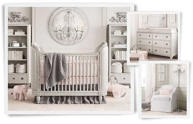 """Do the """"bones"""" of the room with beautiful millwork...and your child can grow into it"""