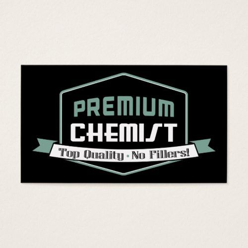 Vintage Premium Chemist Business Card
