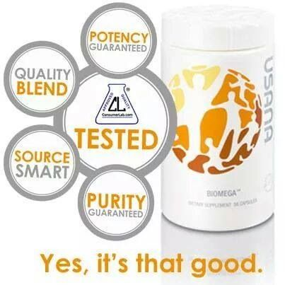 USANAS Fish Oil. Buy quality USANA products with a USANA Independent Assoc. www.anthonyc.usan...