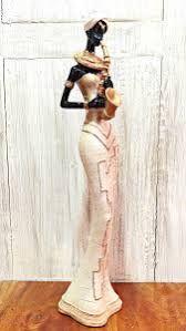 Resultado de imagen para Afrikalı kadınlar heykeller