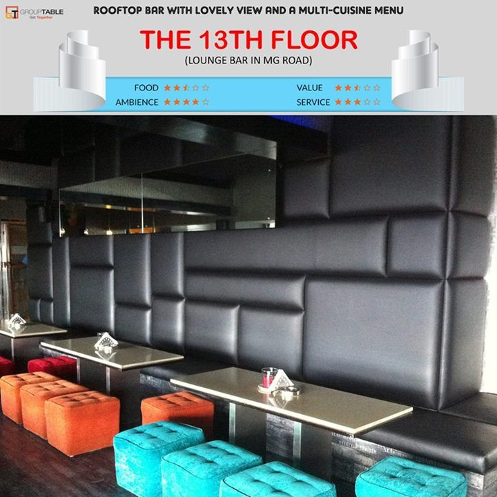 17 best images about best restaurants in bangalore on for 13th floor mg road