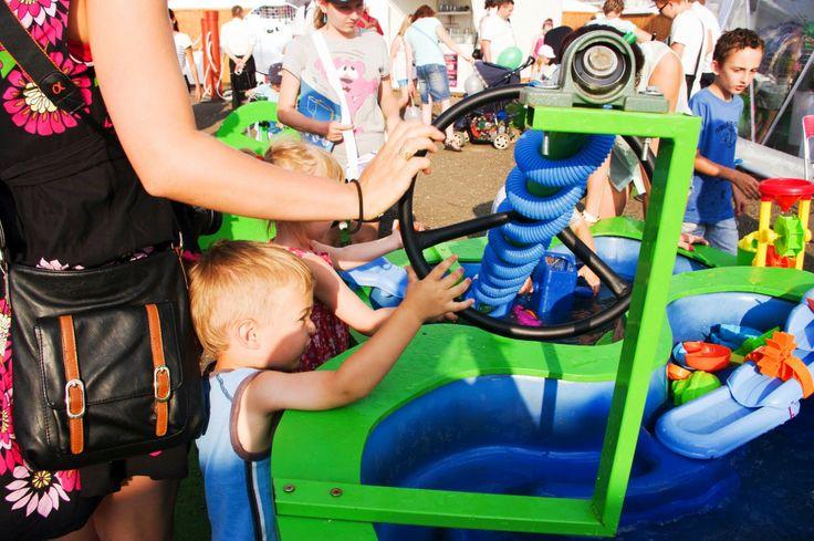 Hydro-stół, śruba Archimedesa, transport wody i mnóstwo dobrej zabawy dla najmłodszych!