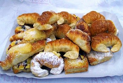 Facturas: sweet breakfast pastries. Best enjoyed with some mate and a friend.